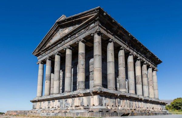 Le temple de Garni (Arménie)