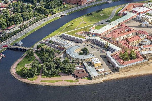 La forteresse Pierre-et-Paul, à Saint-Pétersbourg