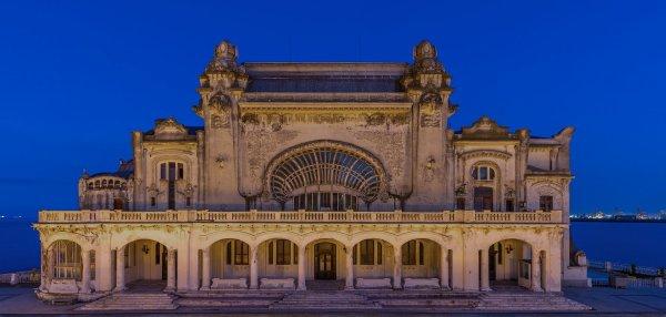 Le casino de Constanța, de style Art nouveau