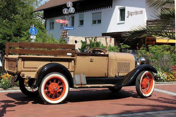 Une Ford A pick-up, modèle 1928