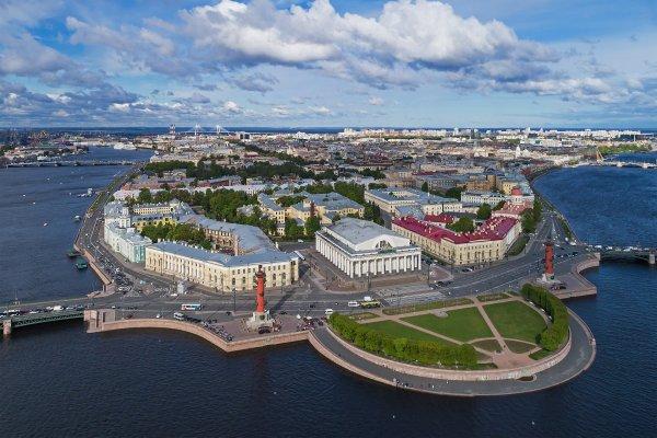 L'île Vassilievski, à Saint-Pétersbourg