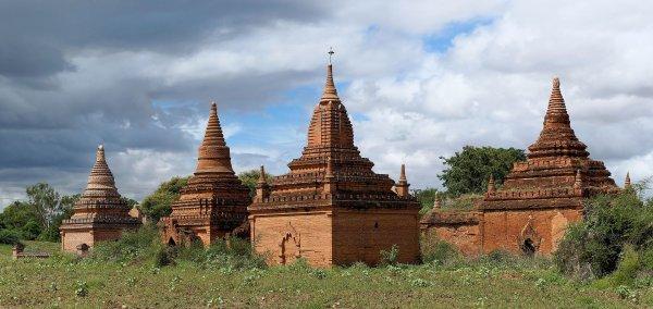 Temples de Bagan (Birmanie)