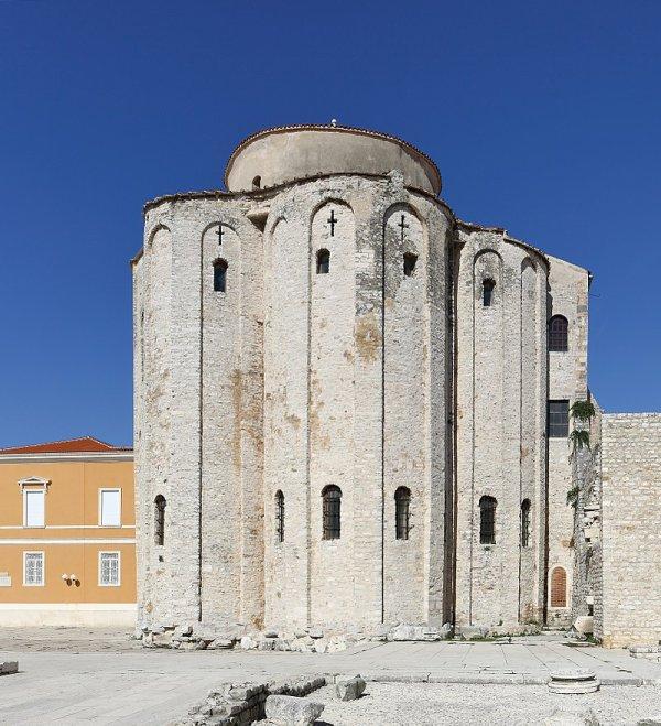 L'église Saint-Donat de Zadar (Croatie)