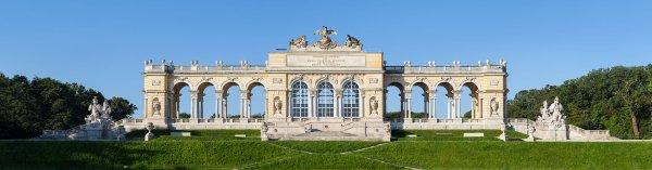 La gloriette du château de Schönbrunn (Autriche)