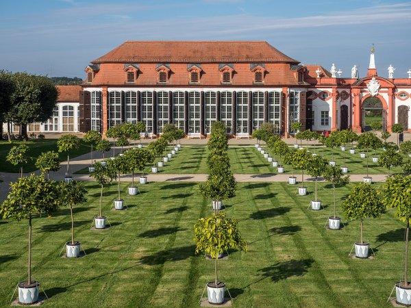 L'orangerie du château de Seehof, en Bavière