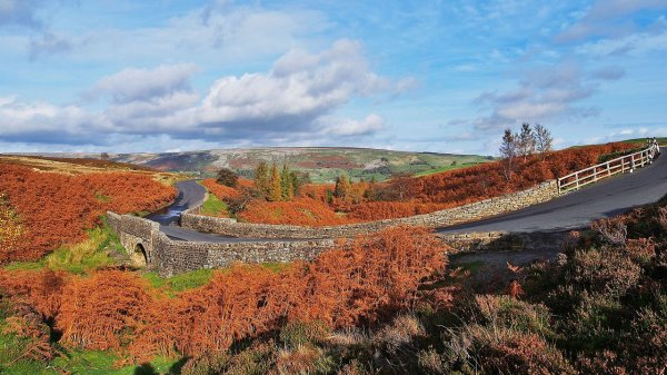 Paysage des Yorkshire Dales