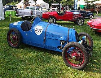 Une BNC 527 Monza, modèle 1928