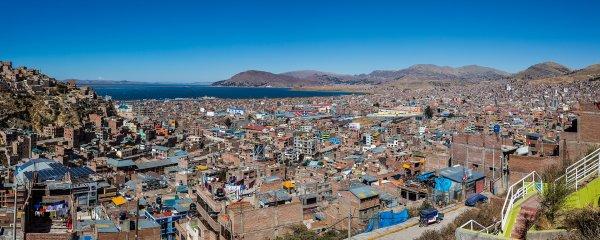 Puno et le lac Titicaca (Pérou)