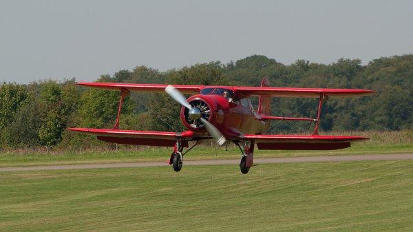 Un Beechcraft Staggerwing