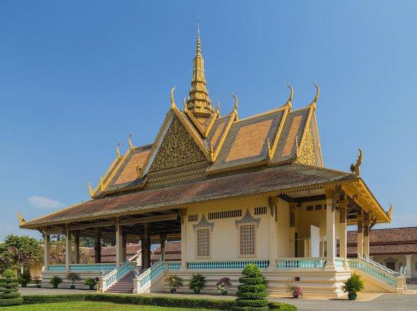 Le Preah Tineang Phhochani, pavillon du palais royal de Phnom Penh (Cambodge)