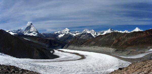 Sommets des Alpes de plus de 4 000 mètres