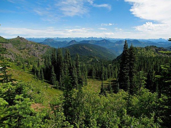 La chaîne des Cascades