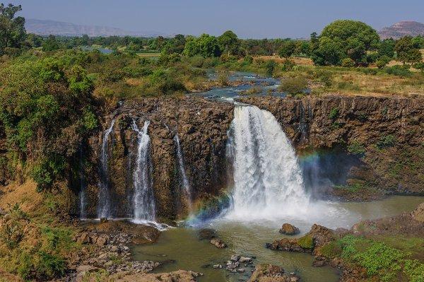 Les chutes du Nil Bleu (Éthiopie)