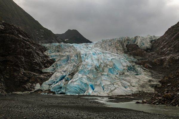 Le glacier Davidson, en Alaska