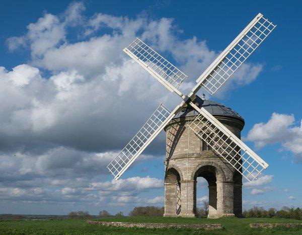 Le moulin à vent de Chesterton, au Royaume-Uni