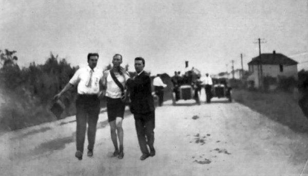 L'épreuve du marathon masculin aux Jeux olympiques de 1904