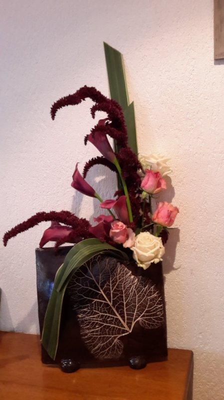 Un test avec mon nouveau  vase