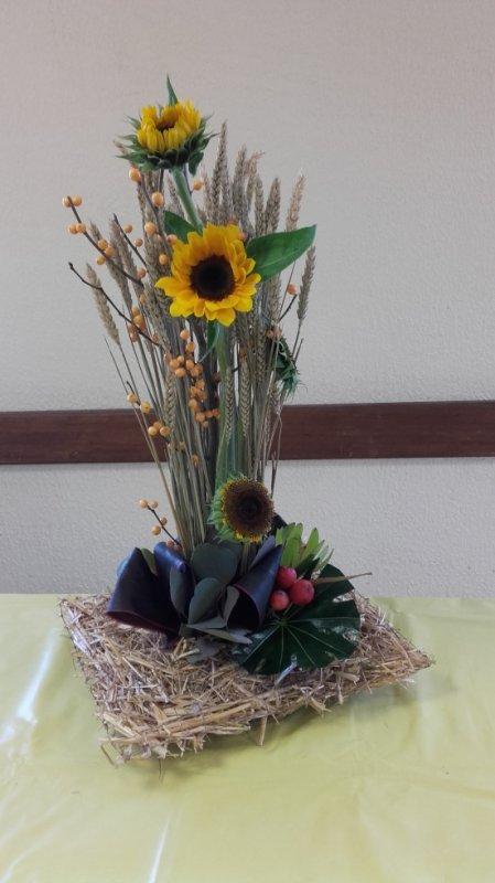 Composition inspiré de la revue atelier floral