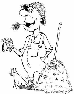 L gionnaire romain fermier fin davin ci du xxie si cle - Coloriage de fermier ...