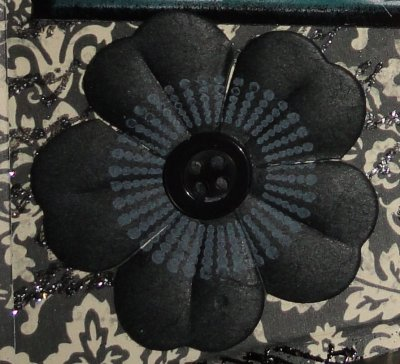 Trucs et astuces: Les tampons sur les fleurs en papiers