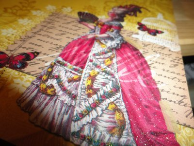 Les papiers: The mademoiselle Stak de DCWV