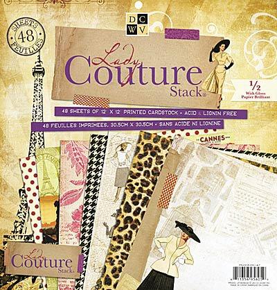 Les papiers: Lady couture Stak de DCWV