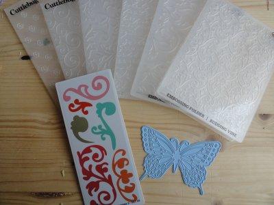 Le matériel: La cuttlebug