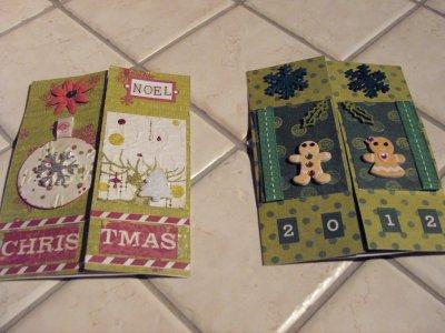 Les cartes: Cartes de noel