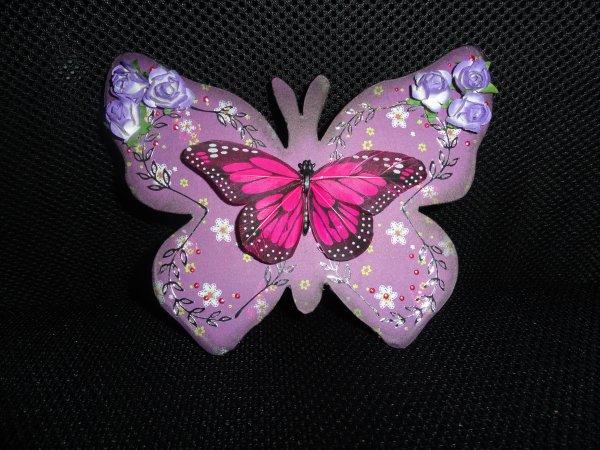 Les plaques: plaque papillon