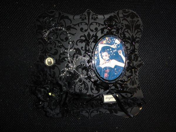 Les plaques: plaque gothique