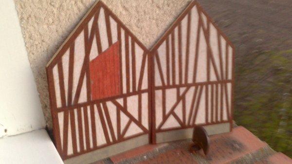 maison normande (manque plus que la facade et le toit)