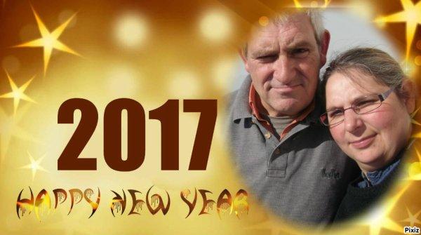 Bonne et heureuse année à tous!!!