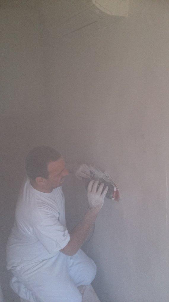 Punaise !!! on a bien bouffé de la poussière de plâtre.!!!
