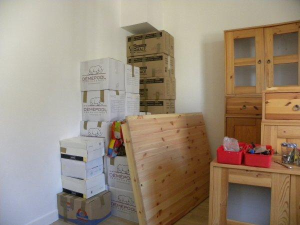Et aujourd'hui, on réaménage !!!!