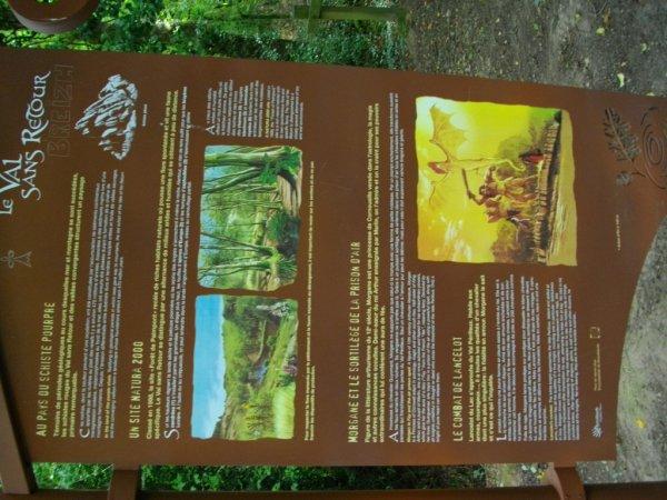 Photos de ma randonnée du jour dans le Val sans Retour en Brocéliande........à