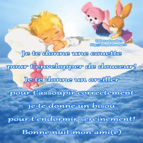 Bonne nuit Mes Ami(e)s !!!