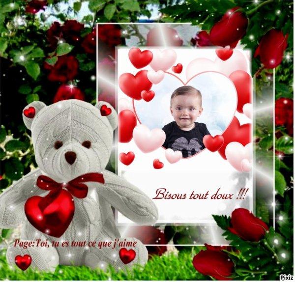 Pour le Petit Ethan , qui a des ennuis de santé et pour sa Mamie !!!