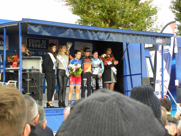 Quelques photos du Cyclo-cross d'hier (coupe de France)