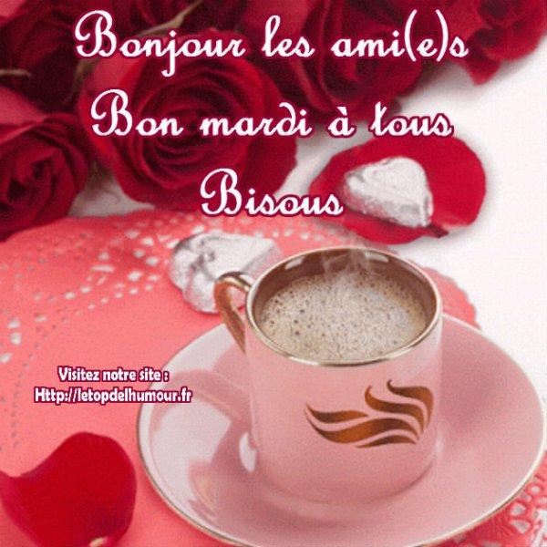 Bonjour Les Ami(e)s.... Bon Mardi à vous !!!