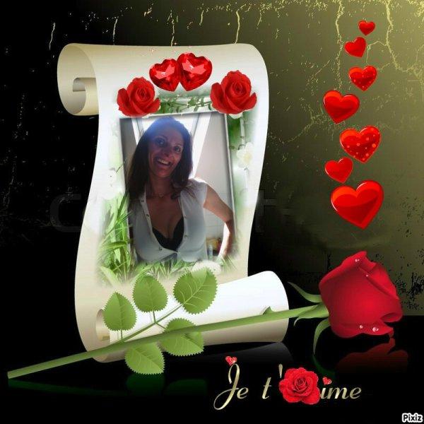 Pour toi Alicia, min Amor !!!