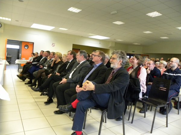Quelques photos de la cérémonie des voeux du Maire !!!