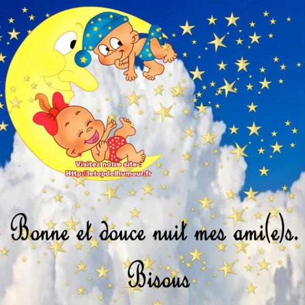 Belle et douce nuit à tous !!