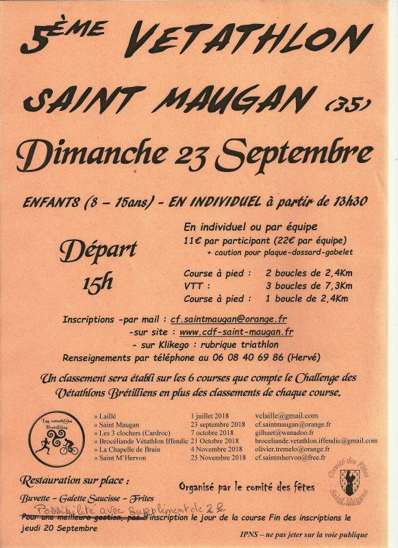 5ème Vétathlon des Brenoux à St-Maugan (35)
