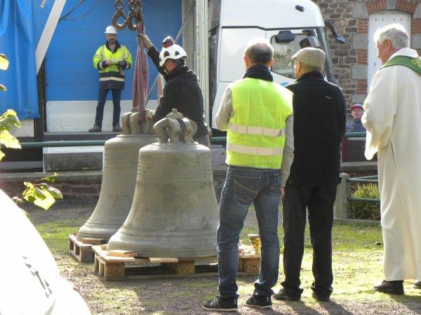 Repose du clocher, après rénovation .