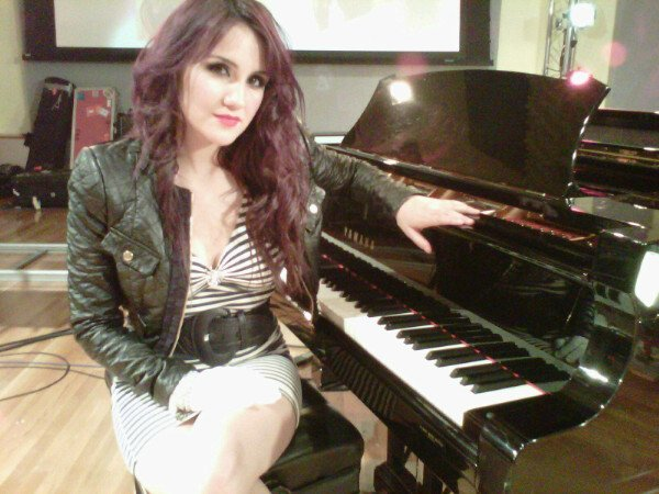 Dulce Maria Backstage InStudio, The Hit Factory - Miami♥