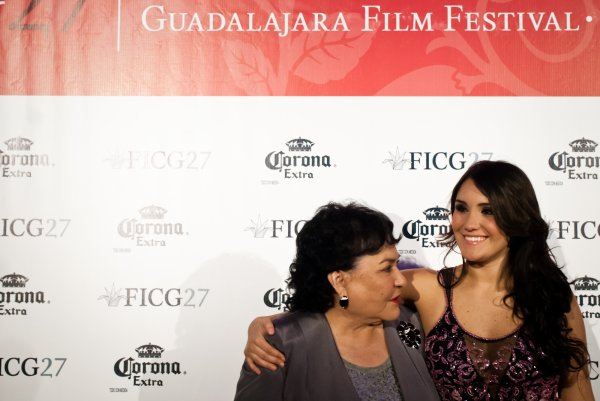 Dulce Maria na Festa de Gala do FICG