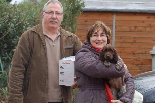 Pascal et sa femme avec Iago du vent des goilles