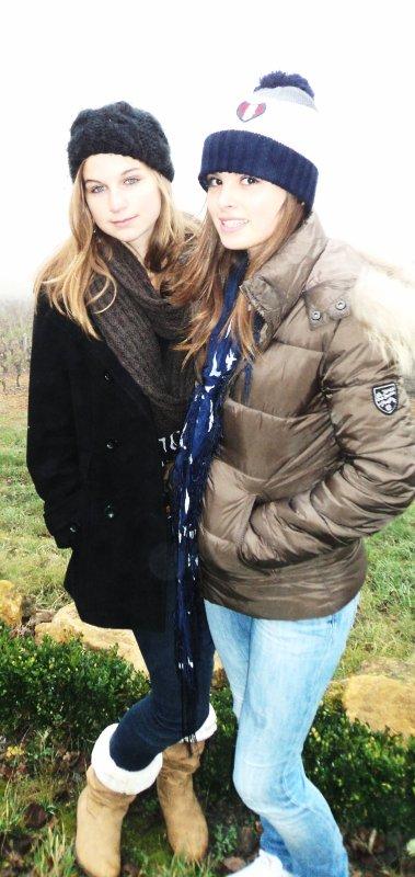 ma meilleure amie , c'est une folle , c'est une femme formidable , c'est mon ange , c'est ma vie , c'est la femme de ma vie .. ♥