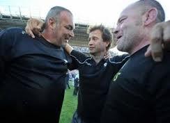 Le Trio des entraîneurs !!!