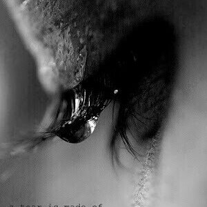 A tear can reveal many others ...
